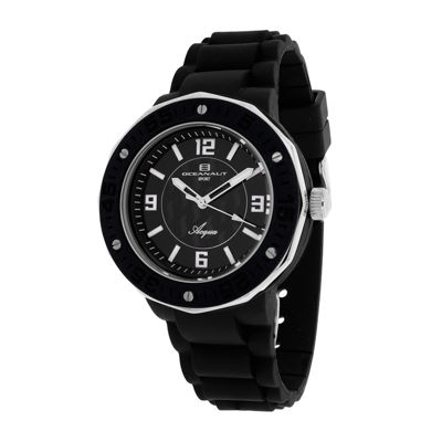 Oceanaut Acqua Womens Black Rubber Strap Watch
