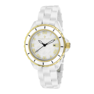 Christian Van Sant Ladies White Palace Bracelet Watch