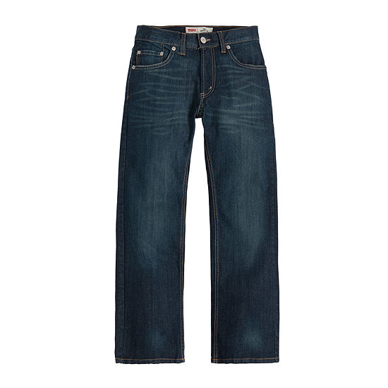 20fbe5de8 Levis 505 Regular Jeans Boys 8 20 Slim and Husky JCPenney