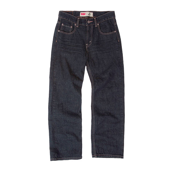 Levi's Big Kid Boys 550 Straight Relaxed Fit Jean