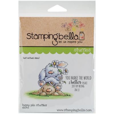 Stamping Bella 2-pc. Bunny Pile Stamp