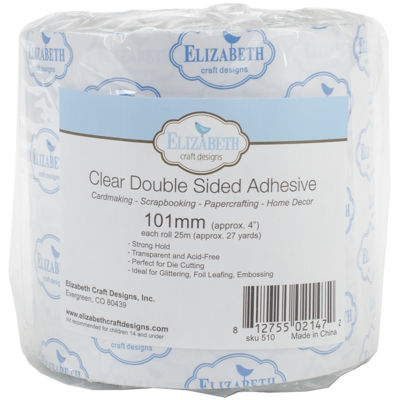 Clear Double Side Adhesive Tape - 27 Yards