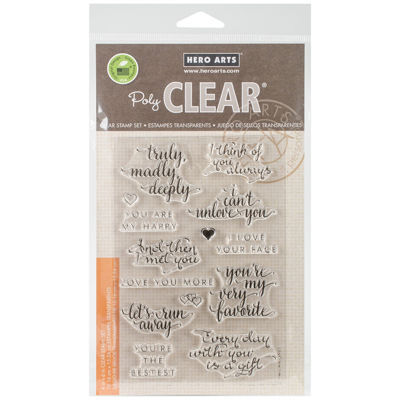 You Are My Happy Clear Stamps