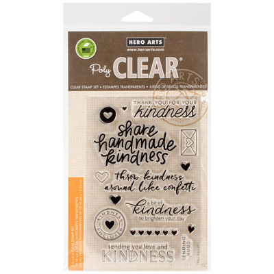 Acts of Kindness Clear Stamps