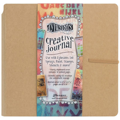 """Dyan Reaveley's 8x8"""" Nature Creative Square Journal"""