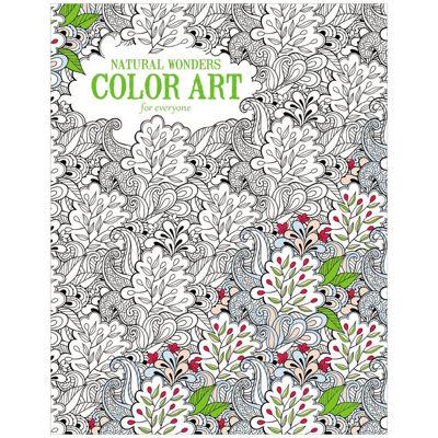Leisure Arts Natural Wonders Coloring Book