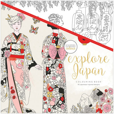 Kaisercraft Explore Japan Coloring Book