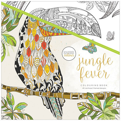 Kaisercraft Jungle Fever Coloring Book