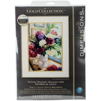 Gold Collection Cross-Stitch Kit