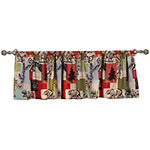 Greenland Home Fashions Rustic Lodge Rod-Pocket Valance