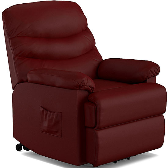 Furniture At Jcpenney: Robins Bonded Leather Lift Wall Hugger Recliner JCPenney