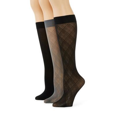 Mixit™ 3 Pair Trouser Socks- Womens