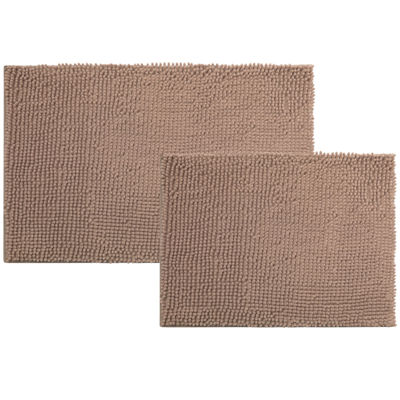 Popular Bath Products Chenille 2-pc. Bath Rug Set