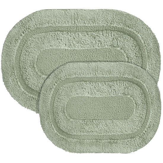 Popular Bath S Pearl Memory Foam 2 Pc Rug Set