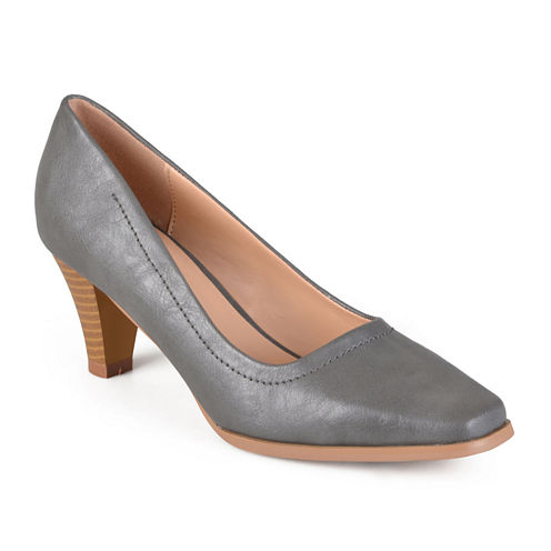 Journee Collection Lucy Chunky Heel Pumps