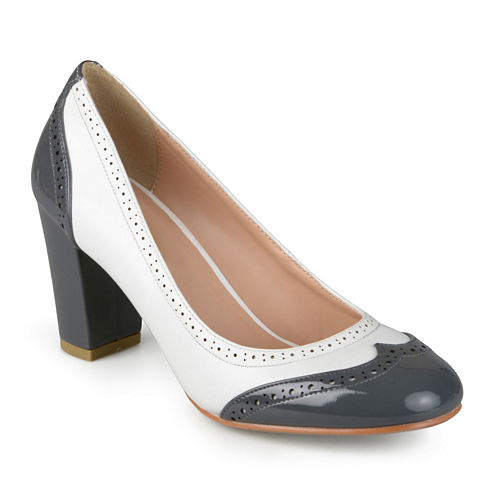 Journee Collection Sami Tailored Dress Pumps