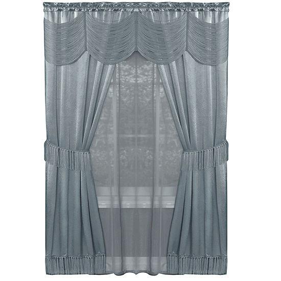 Halley Light-Filtering Rod-Pocket Curtain Panel