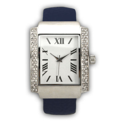 Olivia Pratt Womens Blue Bangle Watch-15773