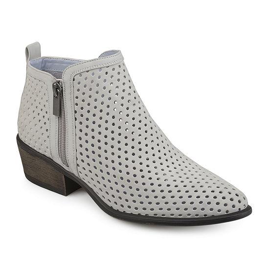 Journee Collection Womens Casidy Booties Block Heel