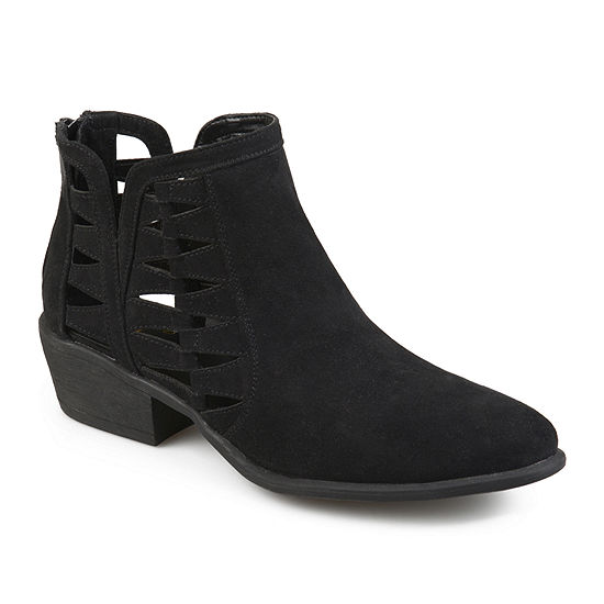 Journee Collection Womens Finley Booties Block Heel