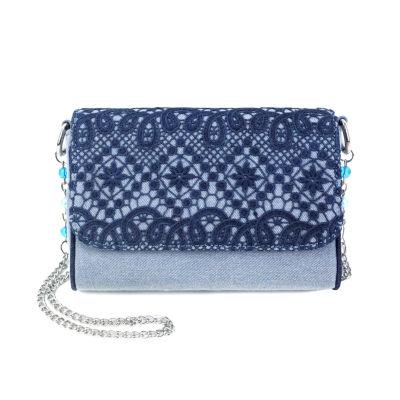 Olivia Miller Kendra Crochet Crossbody Bag