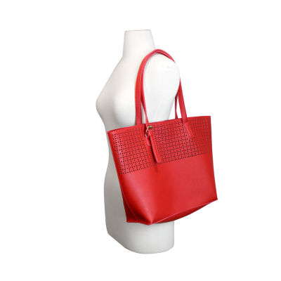Olivia Miller Irena Perforated Tote Bag