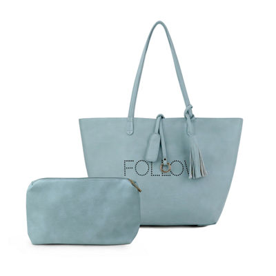 Olivia Miller Follow Perforated Tote Bag