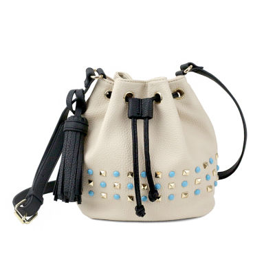 Olivia Miller Braelyn Studded Bucket Crossbody Bag