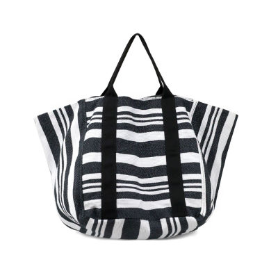 Olivia Miller Yana Multi Striped Bucket Tote Bag