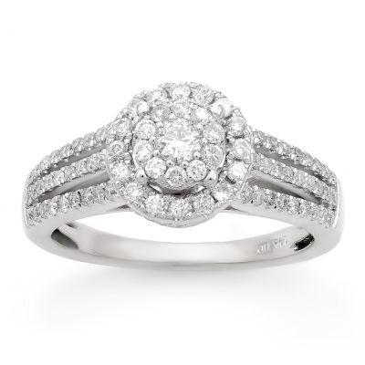 Limited Quantites Womens 3/4 CT. T.W. Round White Diamond 14K Gold Engagement Ring