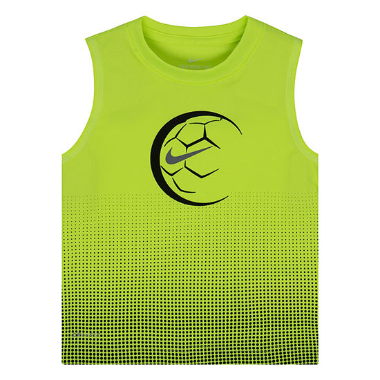 Nike Boys Crew Neck Moisture Wicking Tank Top - Preschool