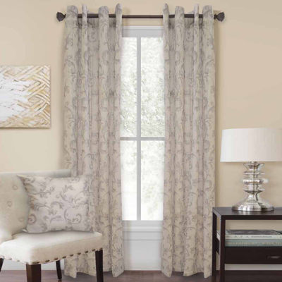 Homewear Nisha Grommet-Top Curtain Panel