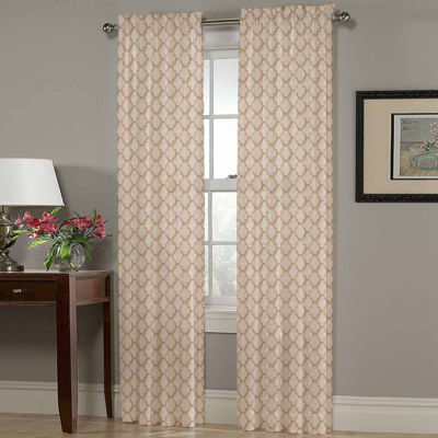 Homewear Olivia Rod-Pocket Curtain Panel