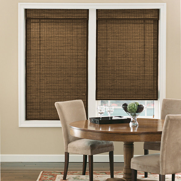 Bali Natural Custom Cordless Roman Shade