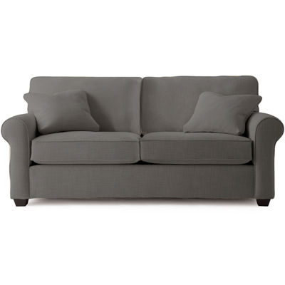Fabric Possibilities Roll Arm Loveseat