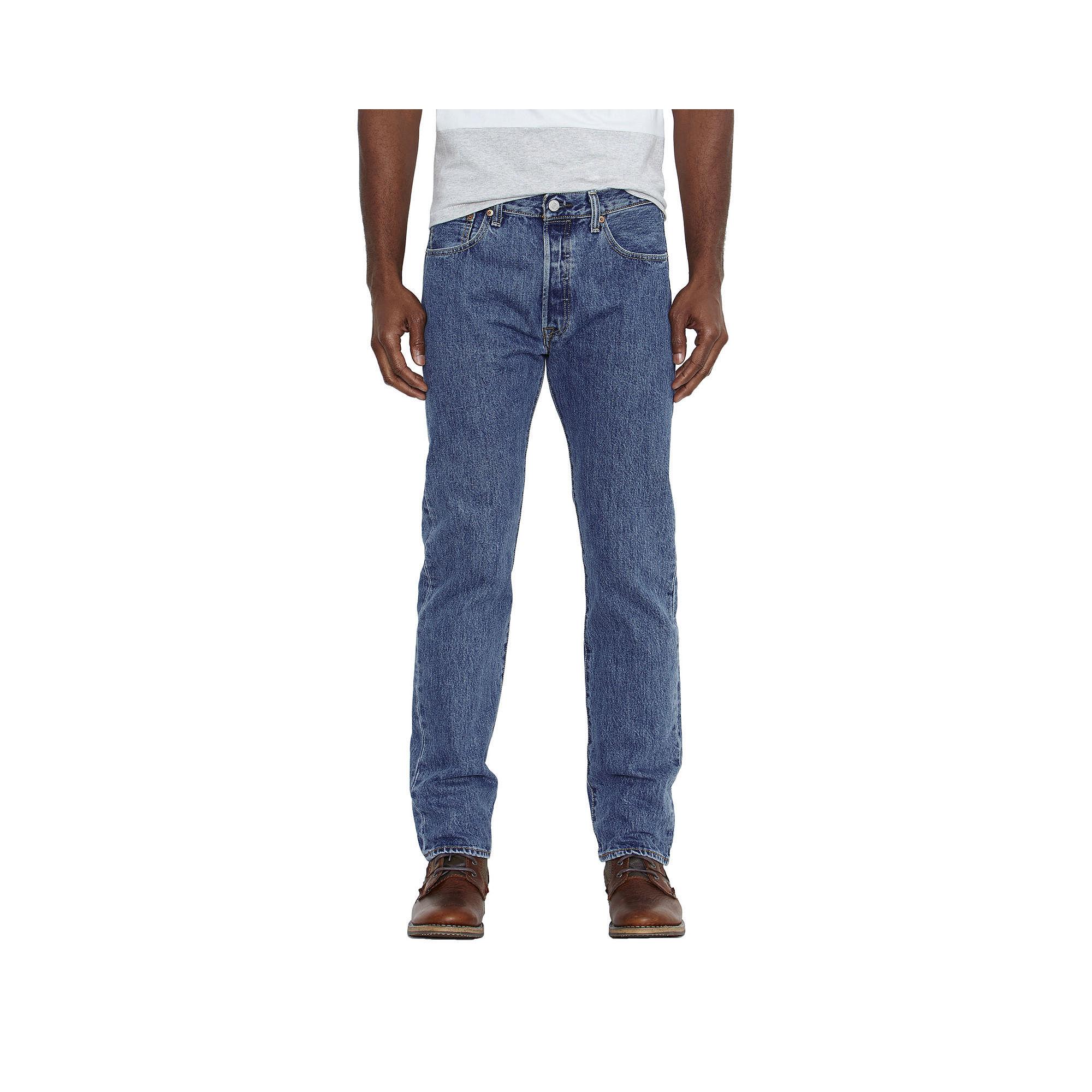 Levi's Men's 501 Original Fit Jeans Stonewash 28