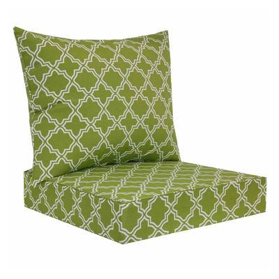 Outdoor Oasis™ Deep Seat Chair Cushion Set