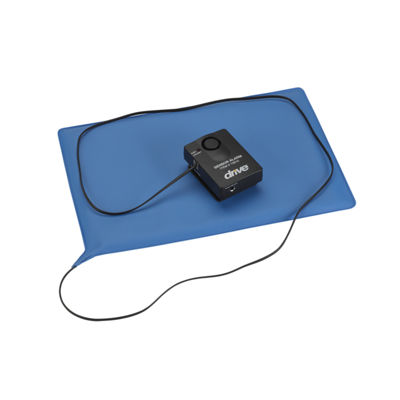 "Drive Medical Pressure Sensitive Bed Chair Patient Alarm, 10"" x 15"" Chair Pad"