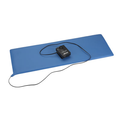"Drive Medical Pressure Sensitive Bed Chair Patient Alarm, 11"" x 30"" Bed Pad"