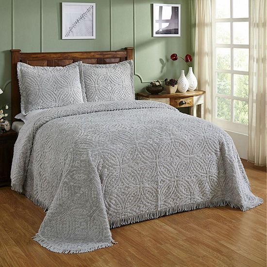Better Trends Chenille Wedding Ring Bedspread