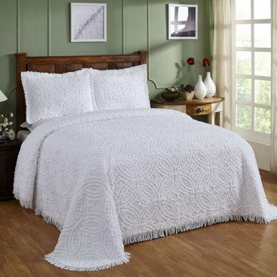 Better Trends Chenille Wedding Ring Bedspread