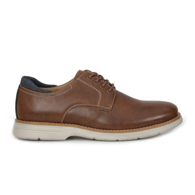 GBX Mens Hatch Oxford Shoes Lace-up Round Toe