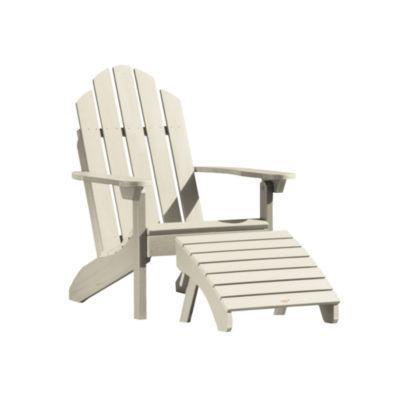 Highwood® 1 Classic Westport Adirondack Chair with 1 Folding Adirondack Ottoman