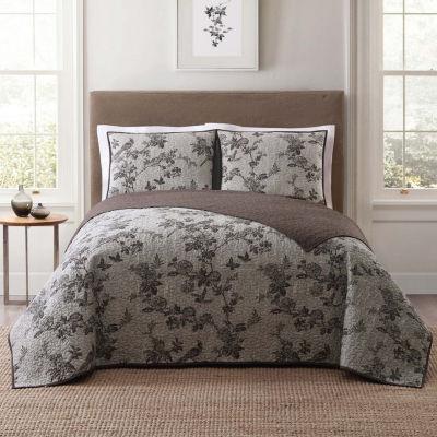 Style 212 Lisborn Floral Quilt Set