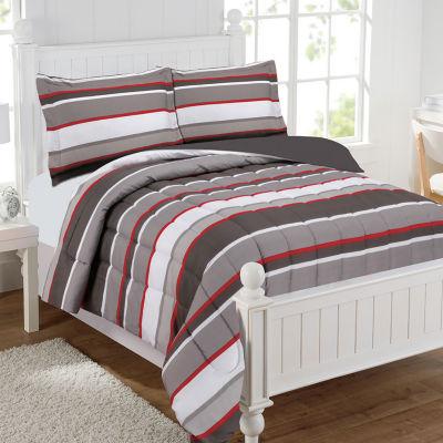 Brett Stripe Comforter Set