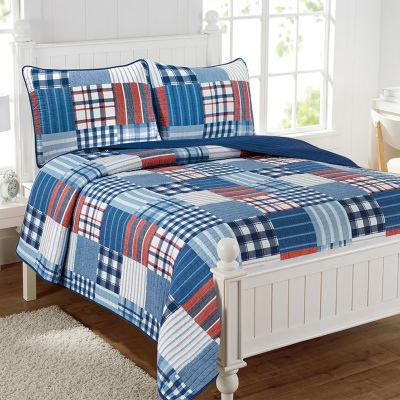 Hudson Patchwork Quilt Set