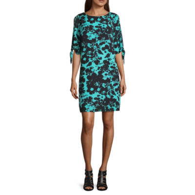 Worthington Tie Sleeve Shift Dress - Tall
