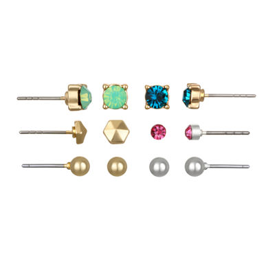 Mixit Delicates 6 Pair Earring Sets