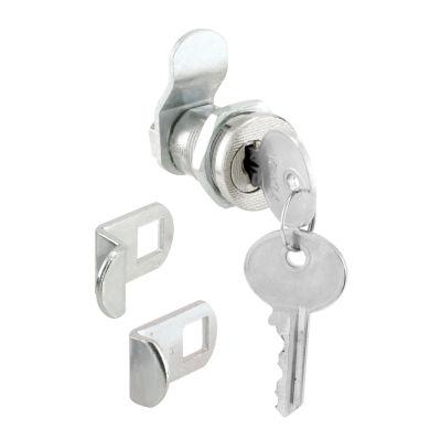 Prime Line S4139 3 Cam 5-Pin Nickel Mail Box Lock