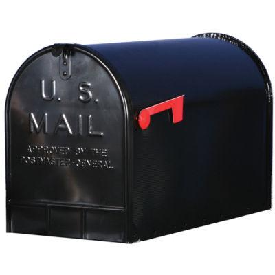 Solar Group ST200B00 Black Jumbo Size Rural Mailbox